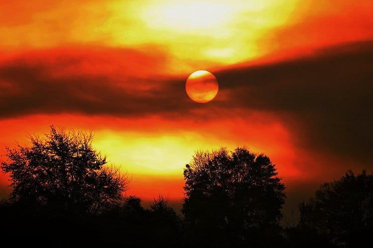 Magie vycházejícího slunce