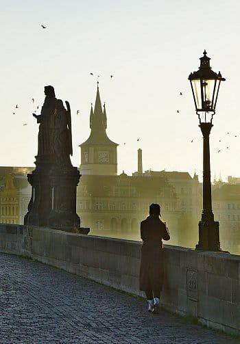 Za svítání ... (Karlův most Pha)