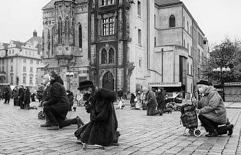 Mše na Staroměstském náměstí
