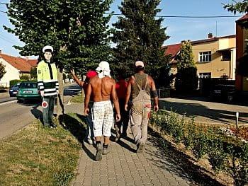 pomáhat a chránit...a prásk někdo policistu ukradl