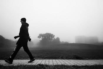 Procházka mlhou