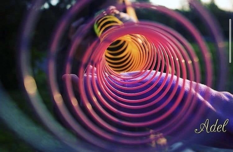 Spirálovitě barevný podzim