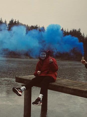 Modrá mlha