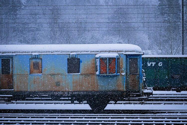 Zimní vlak