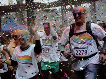 Rainbow run - OSTRAVA !!!